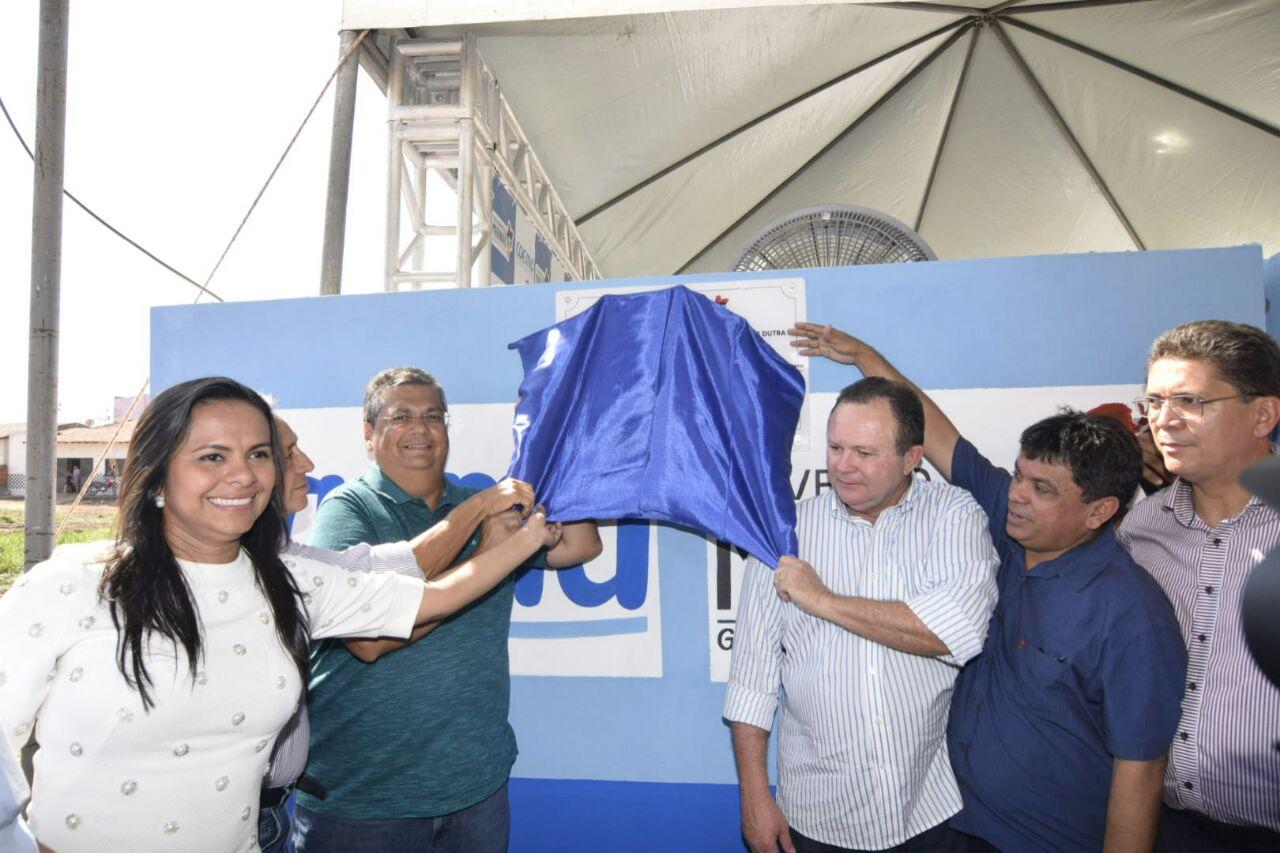 Ana do Gás participa de entregas de obras e anúncios de melhorias em Presidente Dutra
