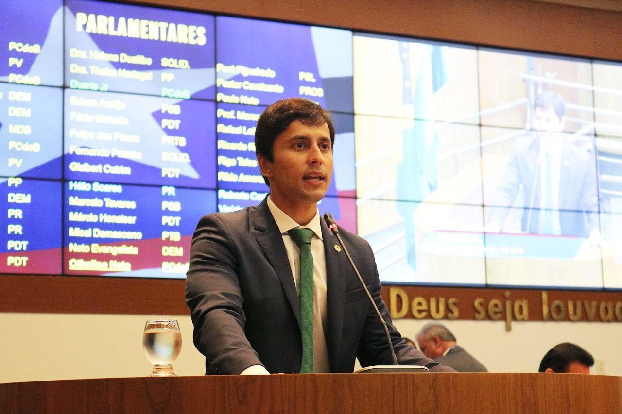 Duarte Jr. apresenta primeiras ações do mandato e prega união entre os parlamentares