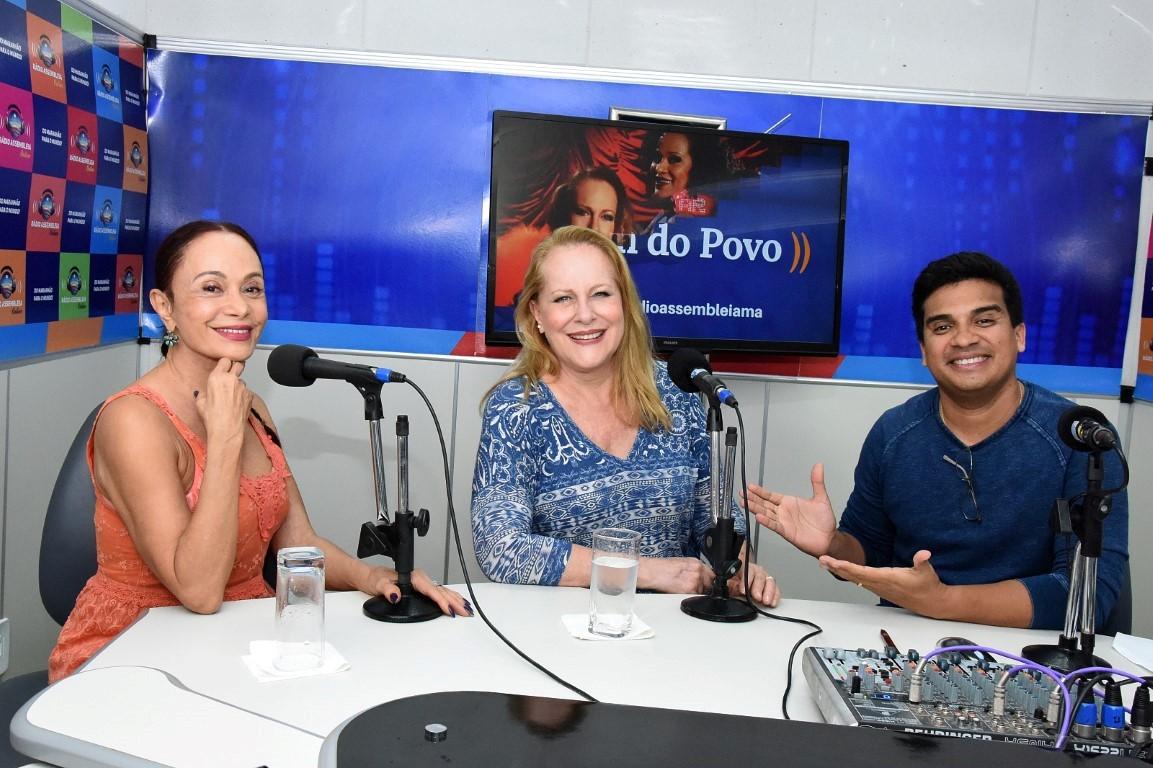 """Em entrevista ao """"Som do Povo"""", atrizes falam do espetáculo """"Palavra de Mulher"""""""