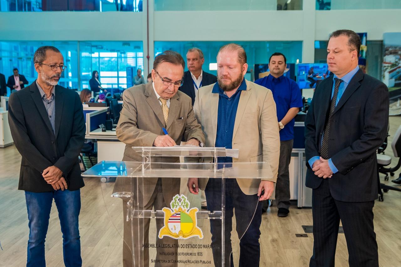 Alema e TCE firmam parceria para veiculação de programa na grade da TV Assembleia