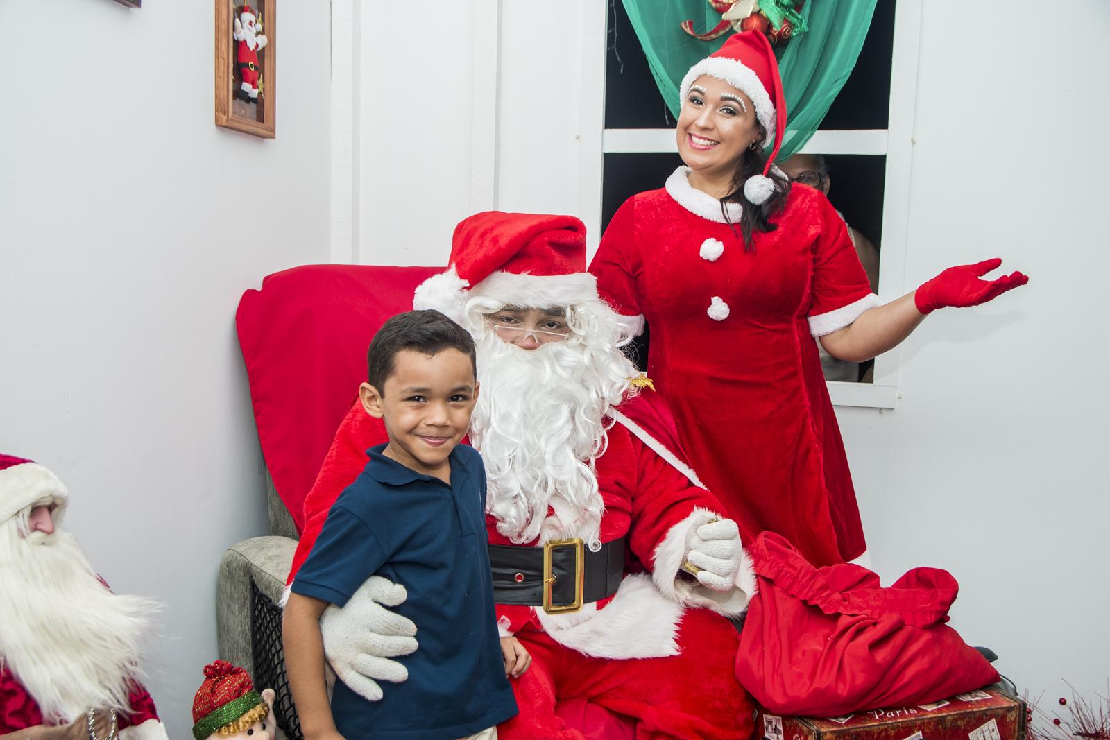 Papai Noel é recebido em clima de festa na Assembleia Legislativa do Maranhão