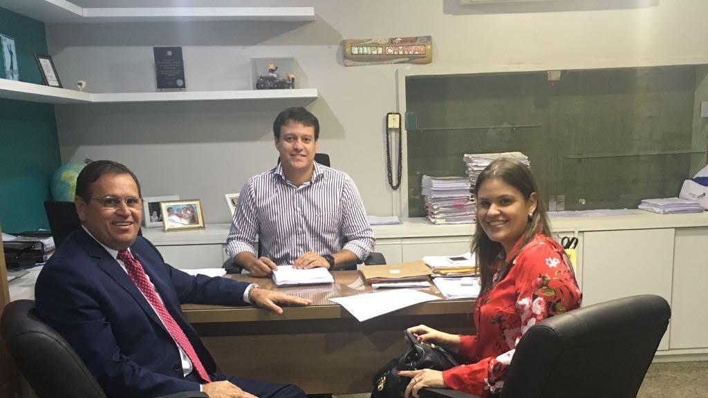 Stenio Rezende se reúne com SEDUC em busca de melhorias para o município de Vitorino Freire