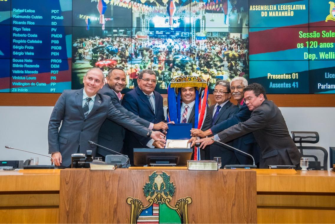120 anos do Boi da Maioba são celebrados em sessão solene na Assembleia Legislativa