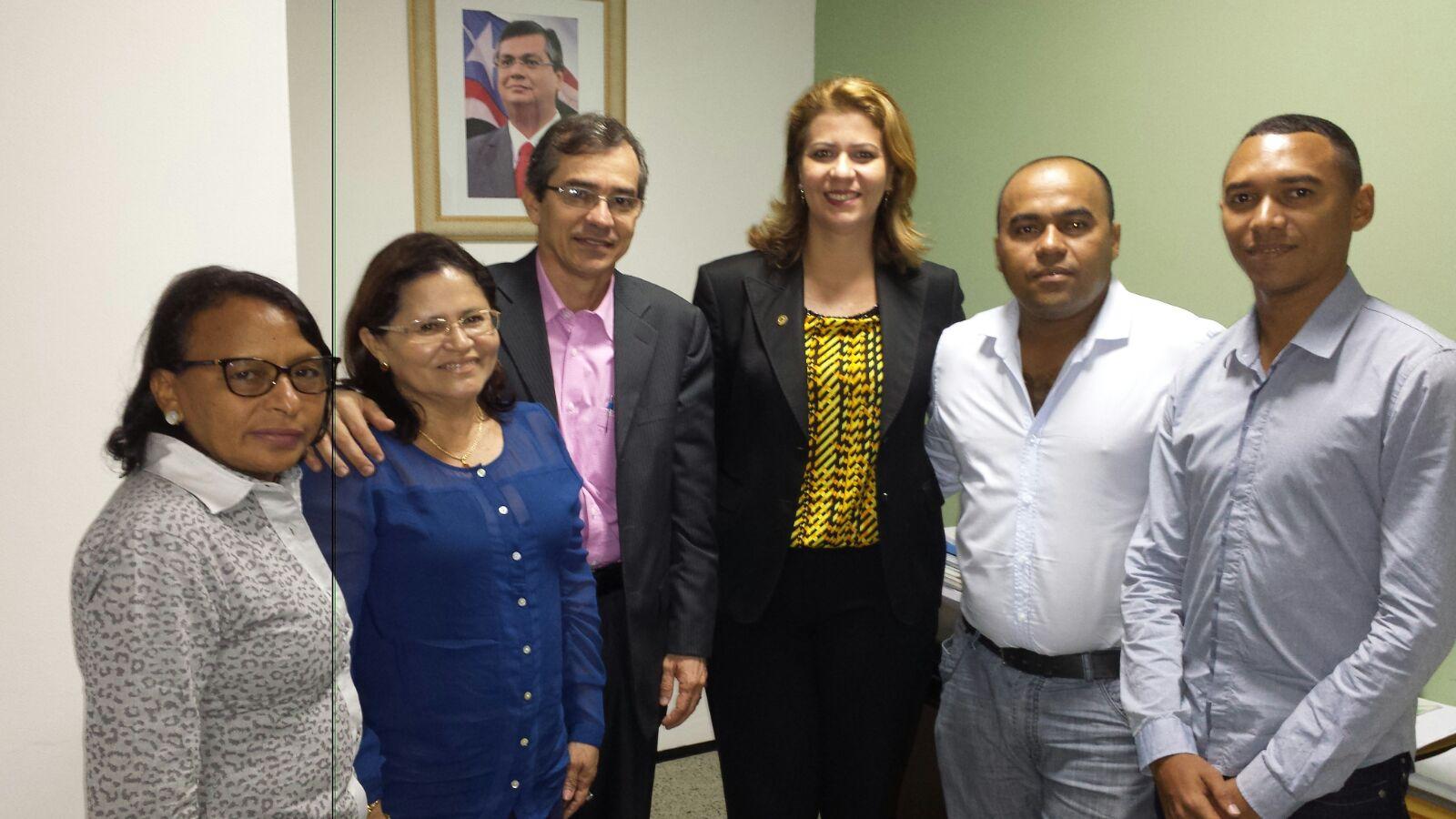 Deputada Valéria Macedo pede ambulância para Senador La Roque