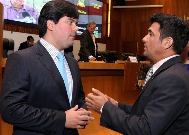 Wellington parabeniza Fufuca por ter sido eleito dep fed mais atuante do MA e o 10º do Brasil