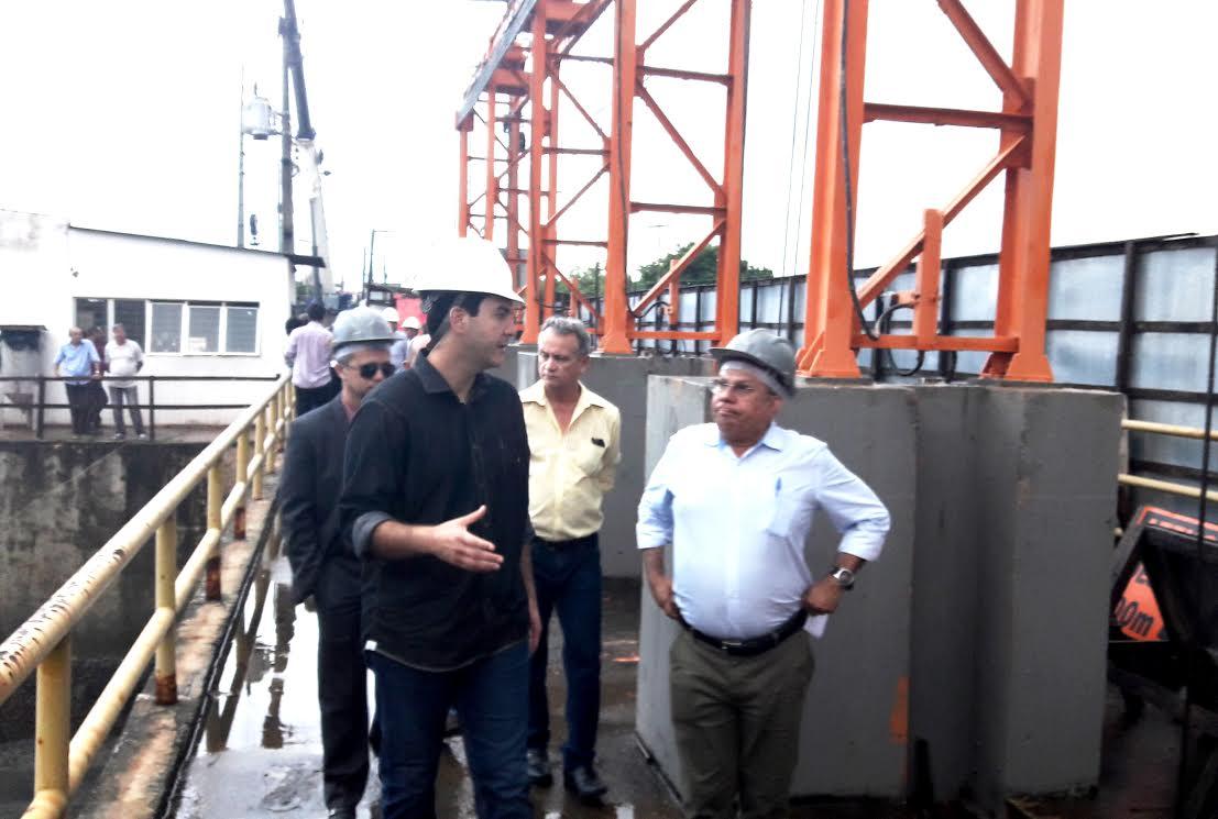 Eduardo Braide faz vistoria na Barragem do Bacanga e consegue compromissos para a comunidade