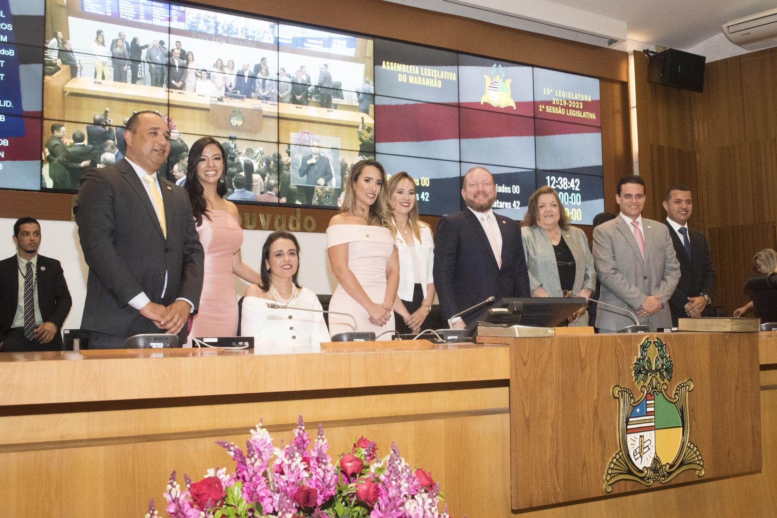 Plenário elege Mesa Diretora para primeiro biênio da 19ª Legislatura
