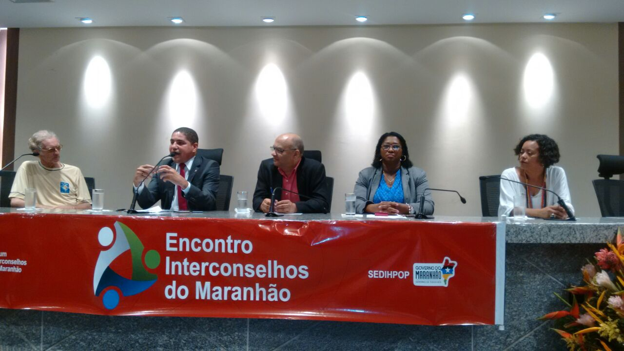 Deputado Zé Inácio participa de Encontro Interconselhos do Maranhão