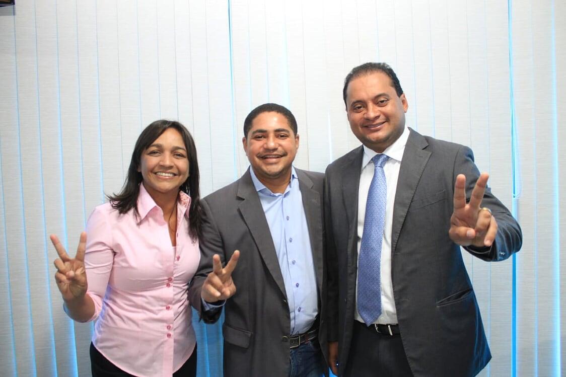 Ao lado dos novos senadores eleitos do Maranhão, Zé Inácio reafirma apoio a Fernando Haddad