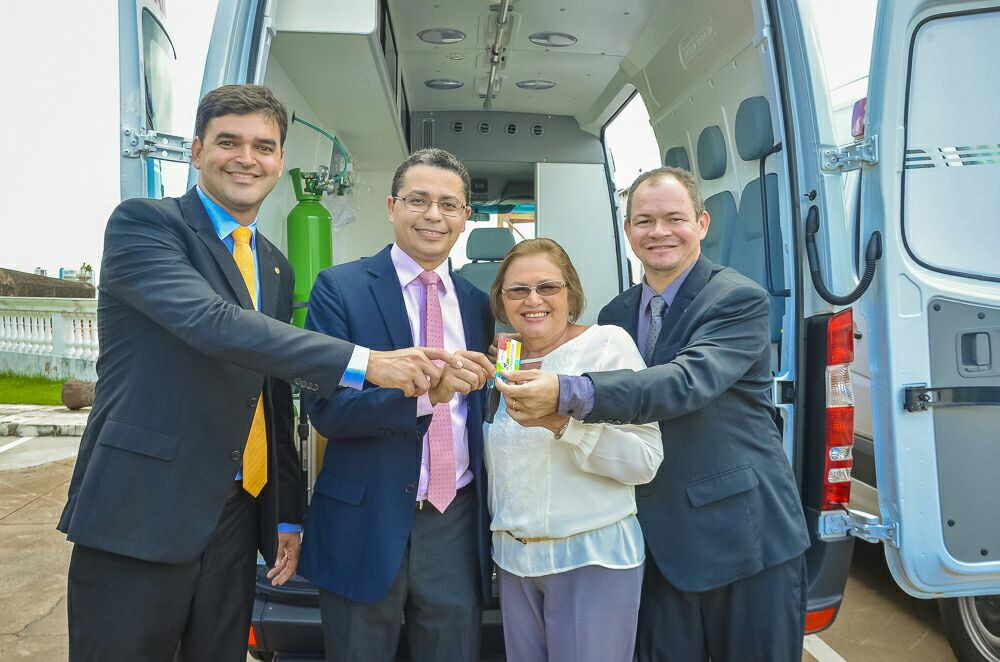 Emenda Parlamentar de Rafael Leitoa é utilizada para compra de ambulância de Governador Eugênio Barros