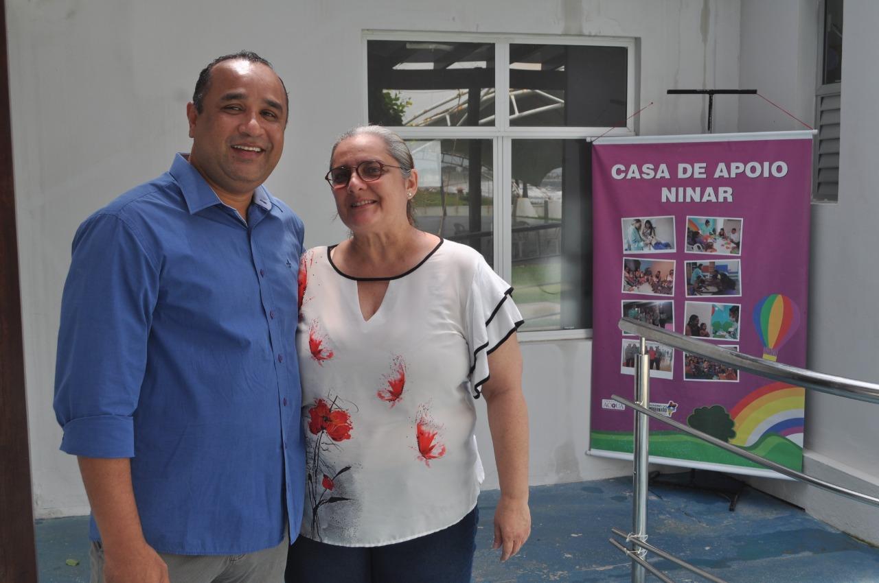 """Roberto Costa homenageará idealizadora do projeto """"Casa de Apoio Ninar"""""""