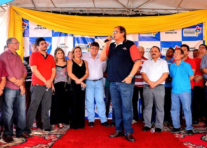 Humberto prestigia comemoração dos 63 anos de emancipação política de São Domingos do Maranhão