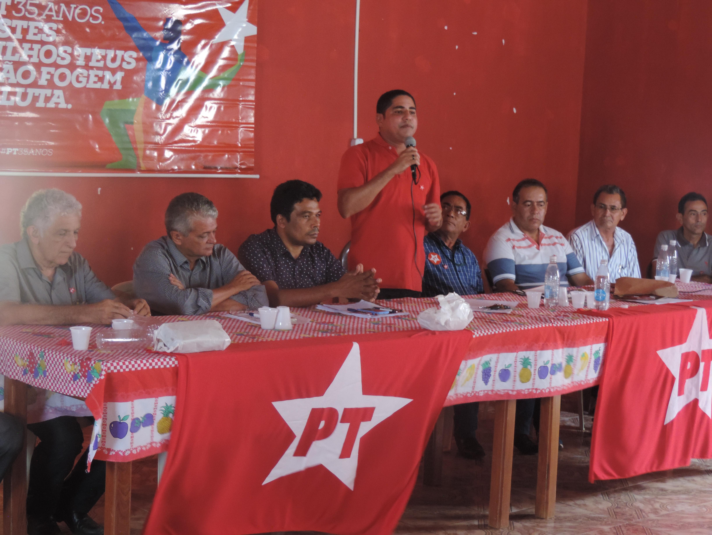 Deputado Zé Inácio participa de Encontro Regional do Partido dos Trabalhadores em Mirador