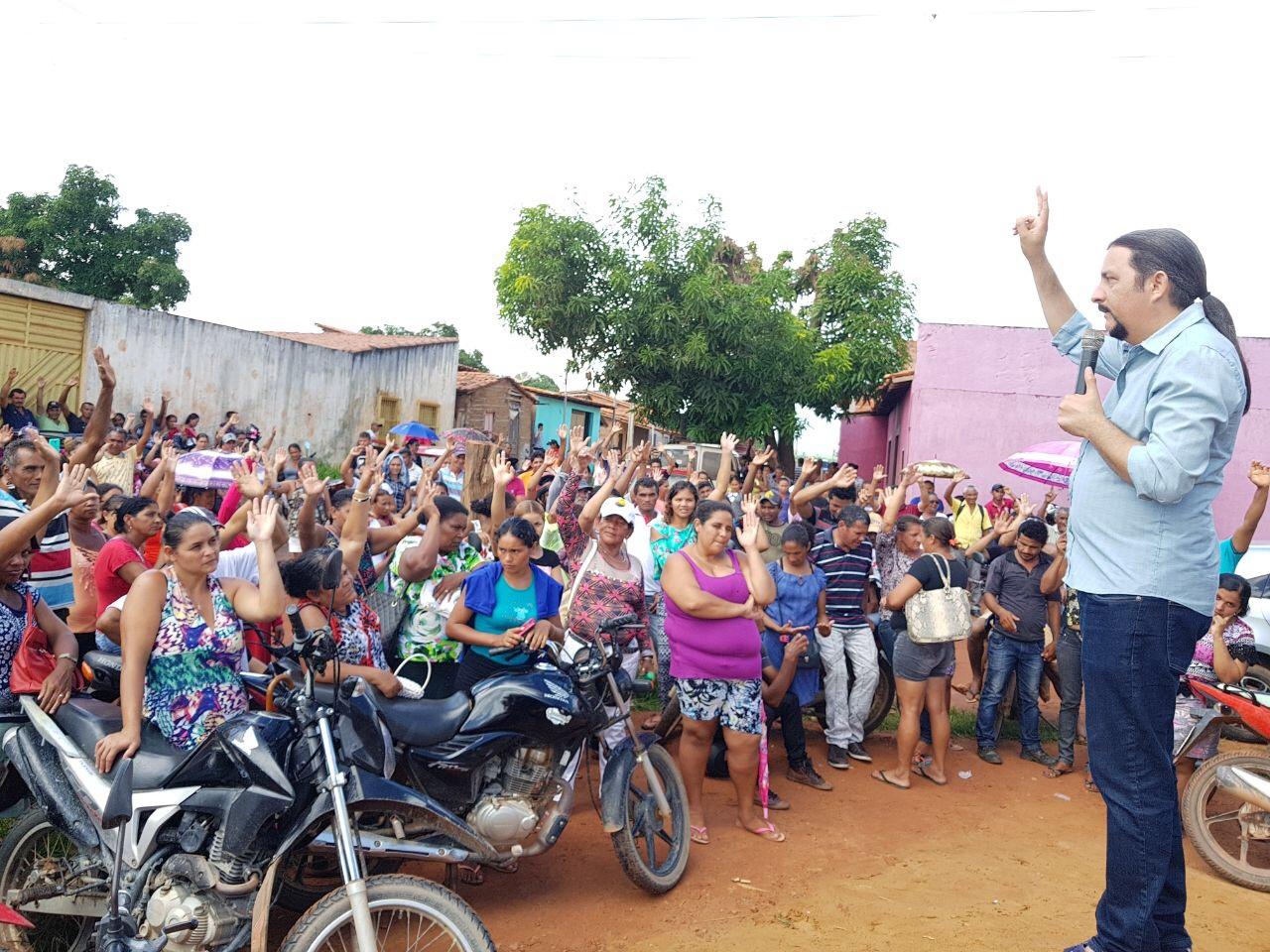 Júnior Verde percorre municípios maranhenses e colhe demandas da população