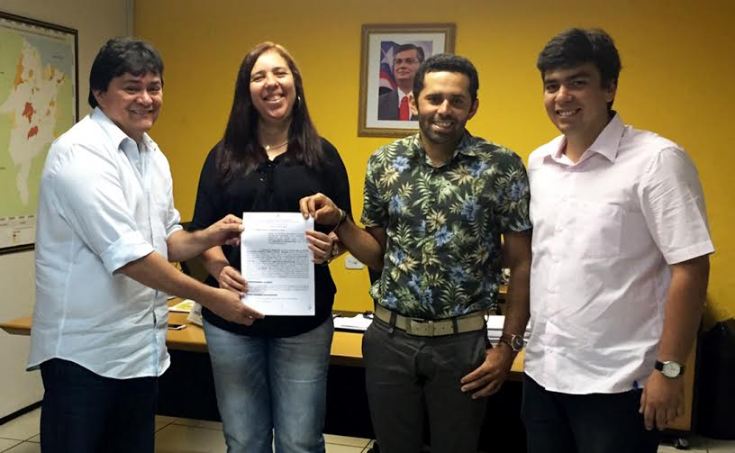 Deputado Léo Cunha viabiliza recursos para  asfaltamento de ruas em Campestre do Maranhão