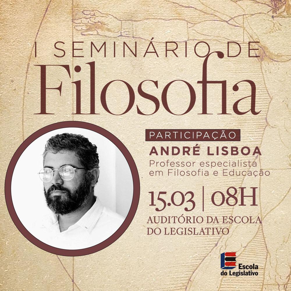 Assembleia promoverá Seminário de Filosofia na próxima sexta-feira