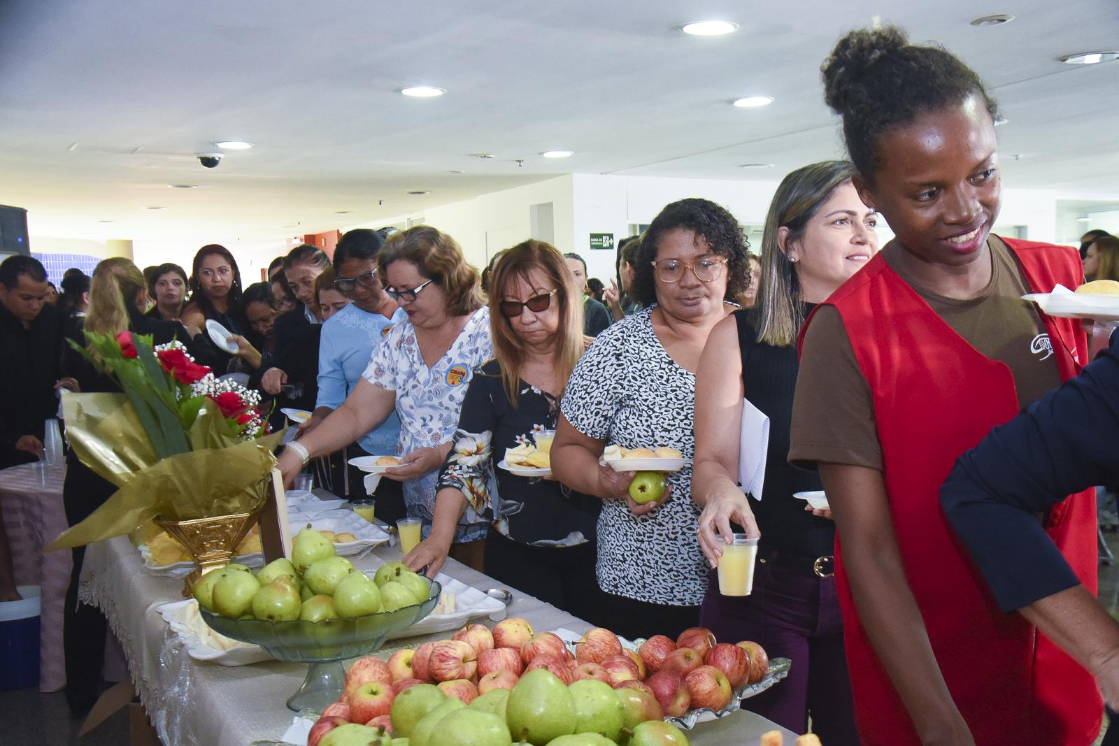 Gedema promove café da manhã em homenagem ao Dia Internacional da Mulher