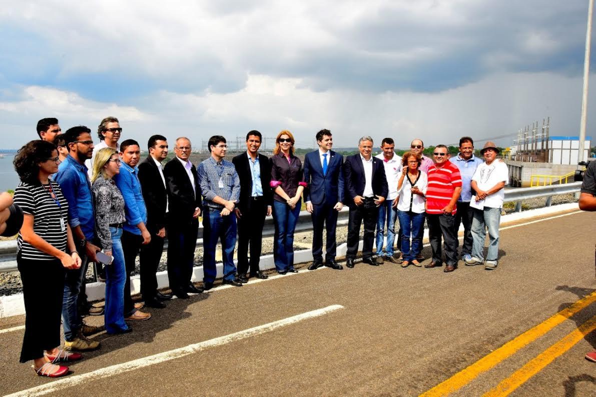 Comissão Especial da Assembleia faz visita técnica à Usina Hidrelétrica de Estreito