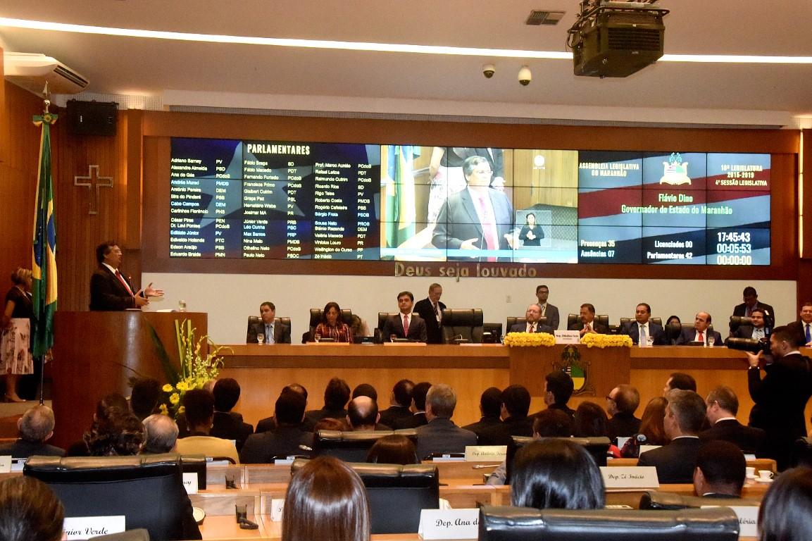 Governador Flávio Dino presta contas de sua gestão e anuncia prioridades para 2018