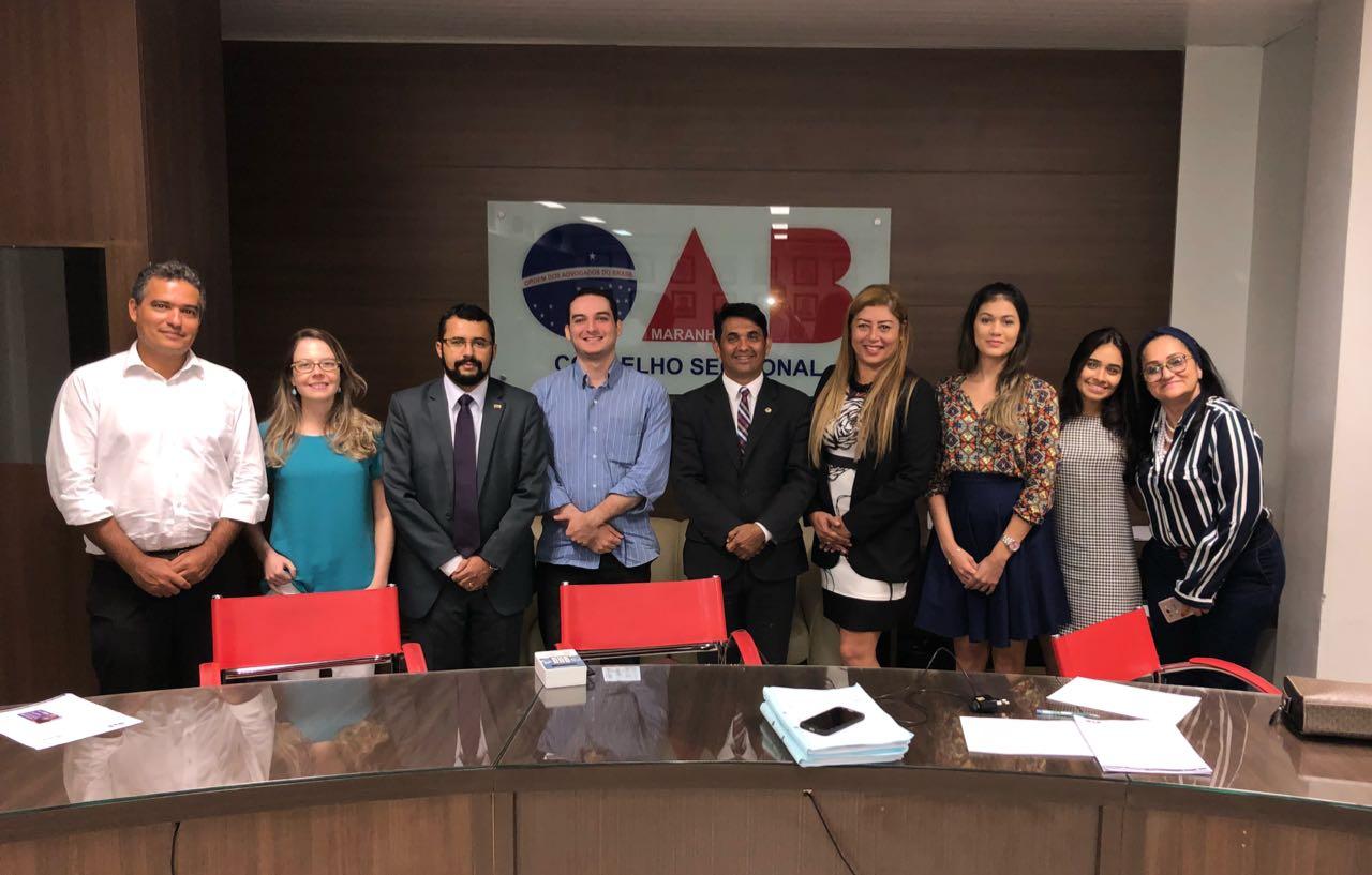 Deputado Wellington visita Comissão de Direitos Humanos da OAB