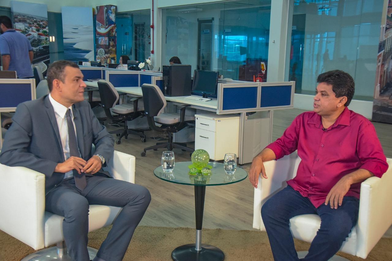 """""""A Previdência precisa ser reformada, mas não pode ser destruída"""", afirma o deputado federal Márcio Jerry em entrevista à TV Assembleia"""