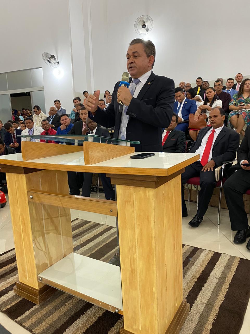 Antônio Pereira prestigia convenção da Assembleia de Deus em Açailândia