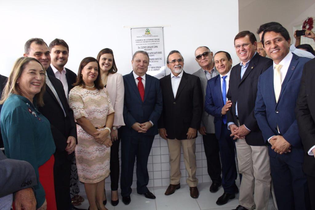 Stenio Rezende inaugura novo fórum do município de Vitorino Freire