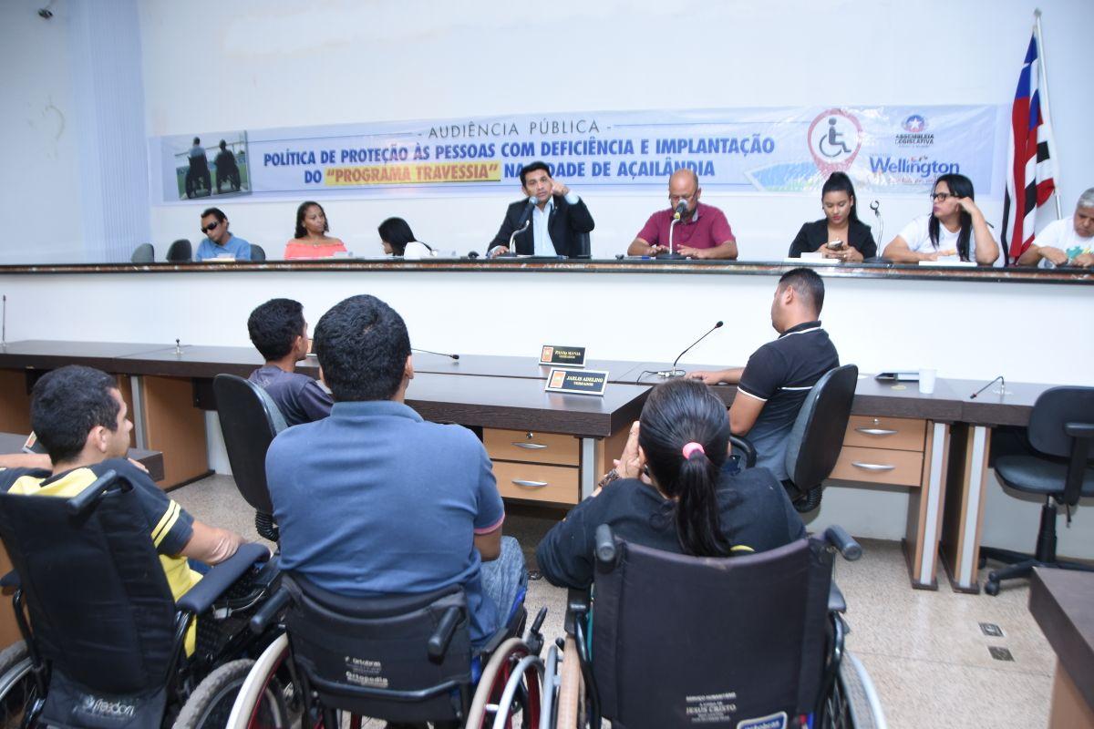 Wellington realiza audiência pública em Açailândia para debater direitos das pessoas com deficiência