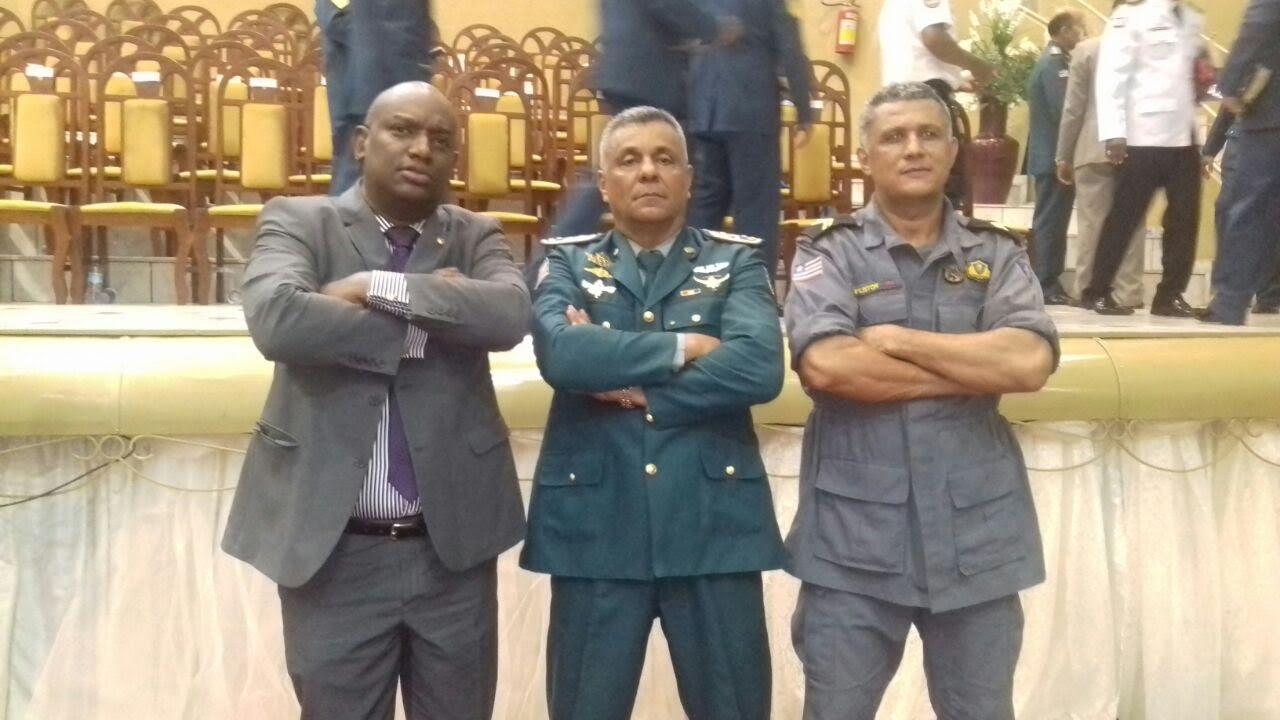 Cabo Campos participa de encontro de militares cristãos em Imperatriz