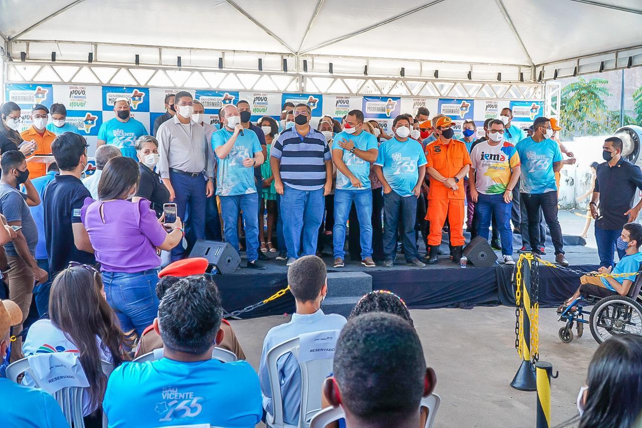 Deputado Othelino Neto falou da satisfação em poder contribuir para melhorar a vida da população do município