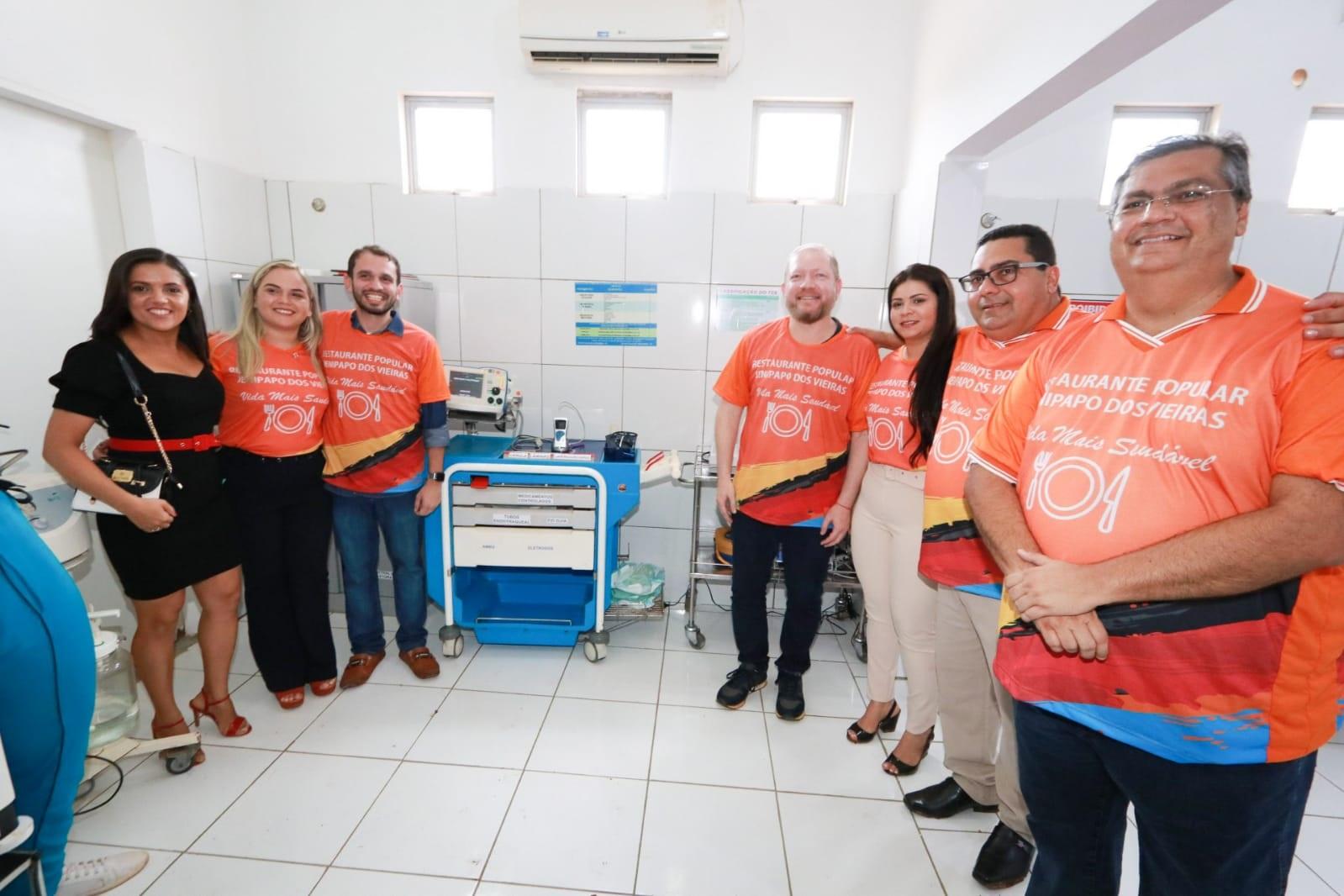 Entrega da Sala de Estabilização criada no Hospital Municipal Maria Vieira Oliveira, em Jenipapo dos Vieiras