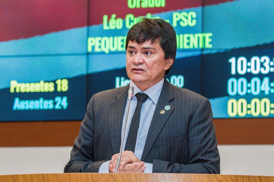 Deputado Léo Cunha indica investimentos para municípios da região Tocantina