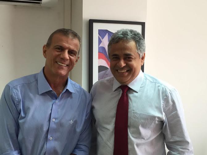 Deputado Sergio Frota visita Secretaria Estadual do Meio Ambiente