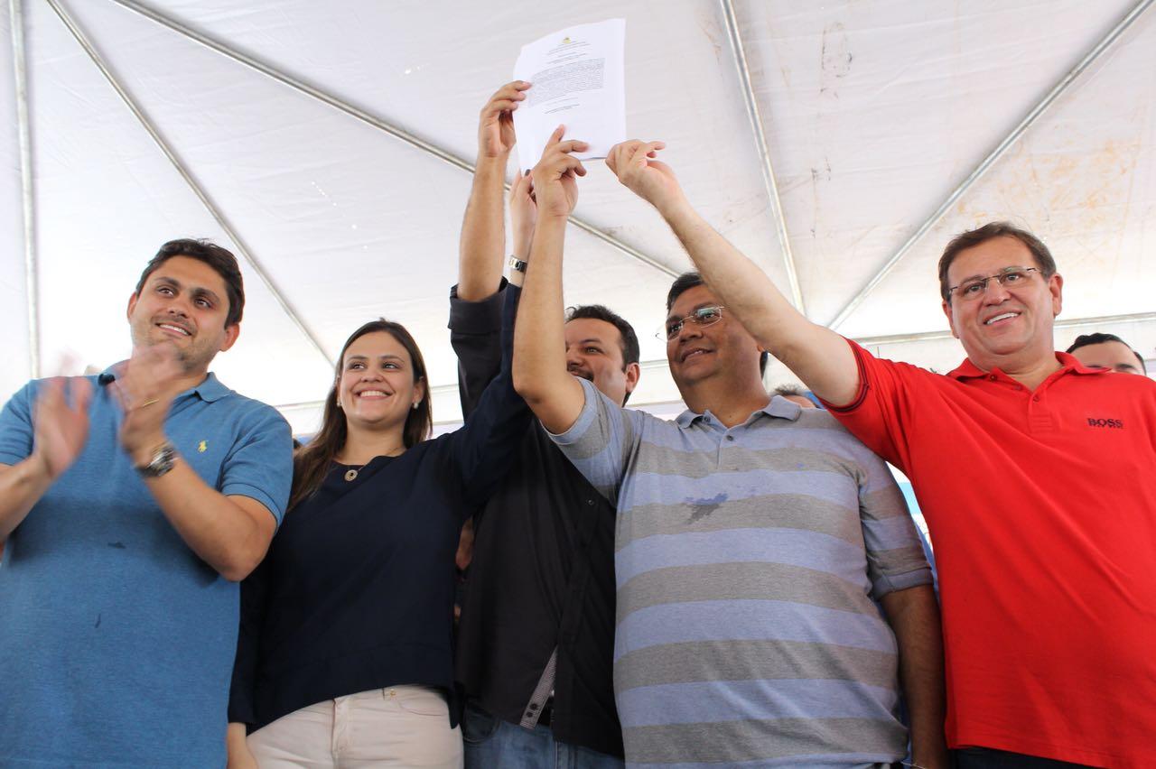 Stenio Rezende comemora aniversário de Vitorino Freire com inauguração de obras