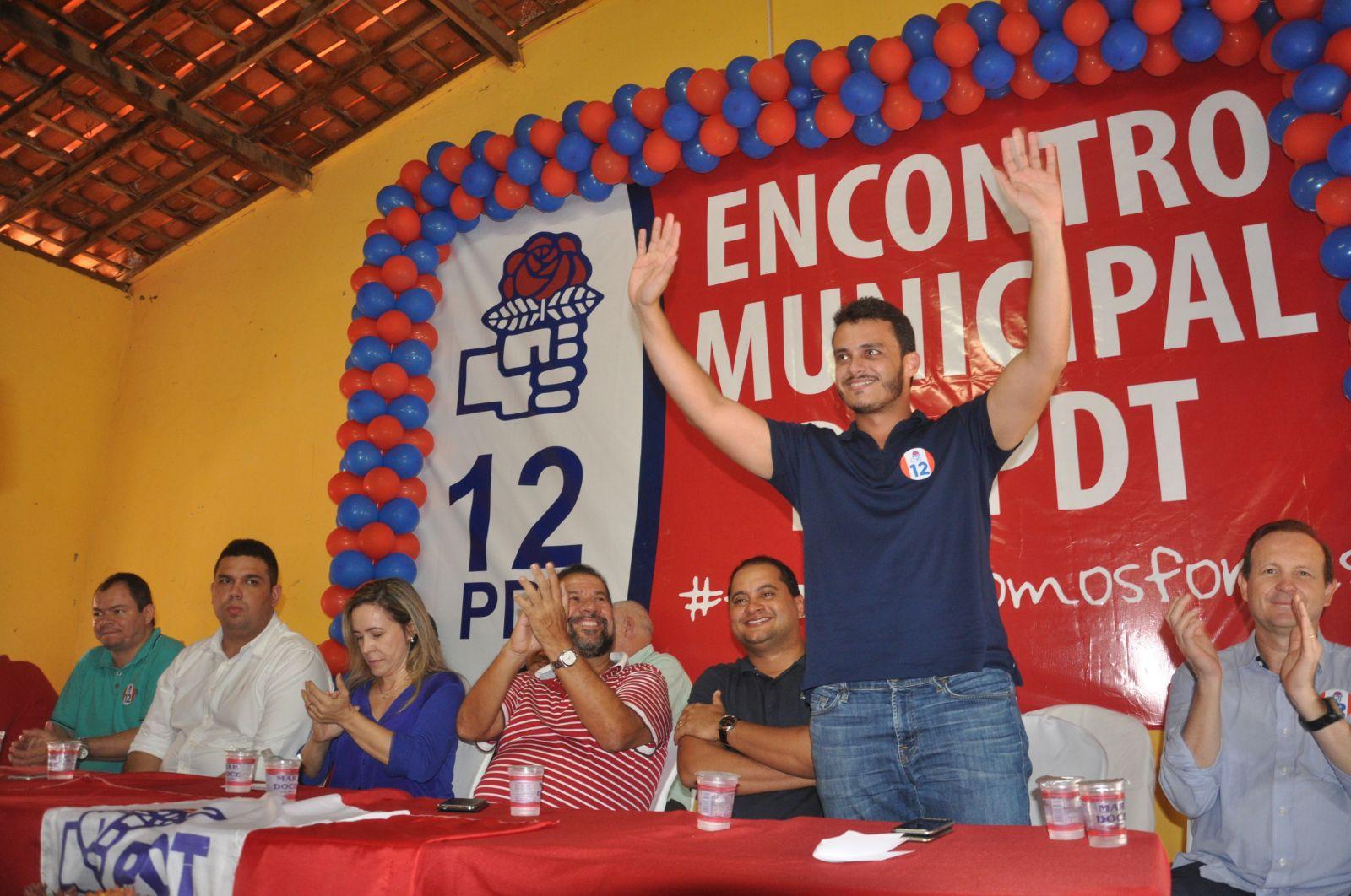 Glalbert Cutrim destaca fortalecimento do PDT no Maranhão