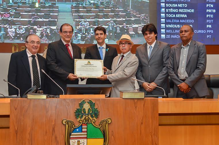Assembleia Legislativa do Maranhão concede Título de Cidadão Maranhense a Sergio Tamer