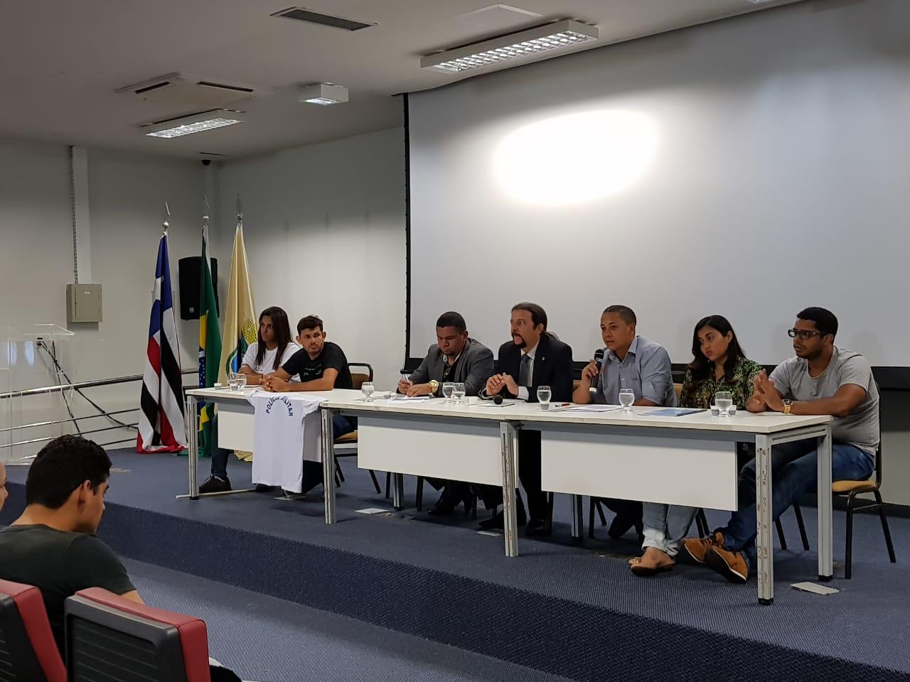 Júnior Verde coordena reunião da comissão de sub judice do concurso da PM