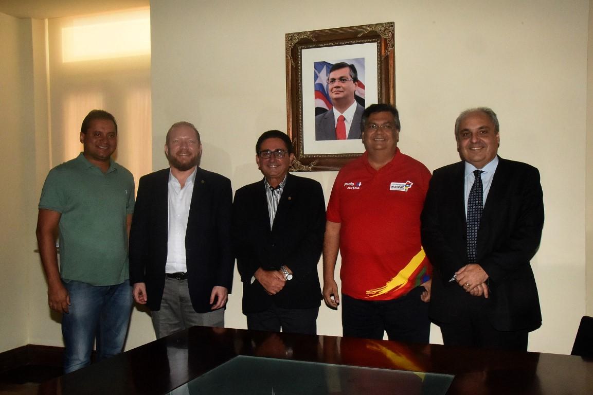 Deputados discutem demandas da região do  Alto Turi com o governador Flávio Dino