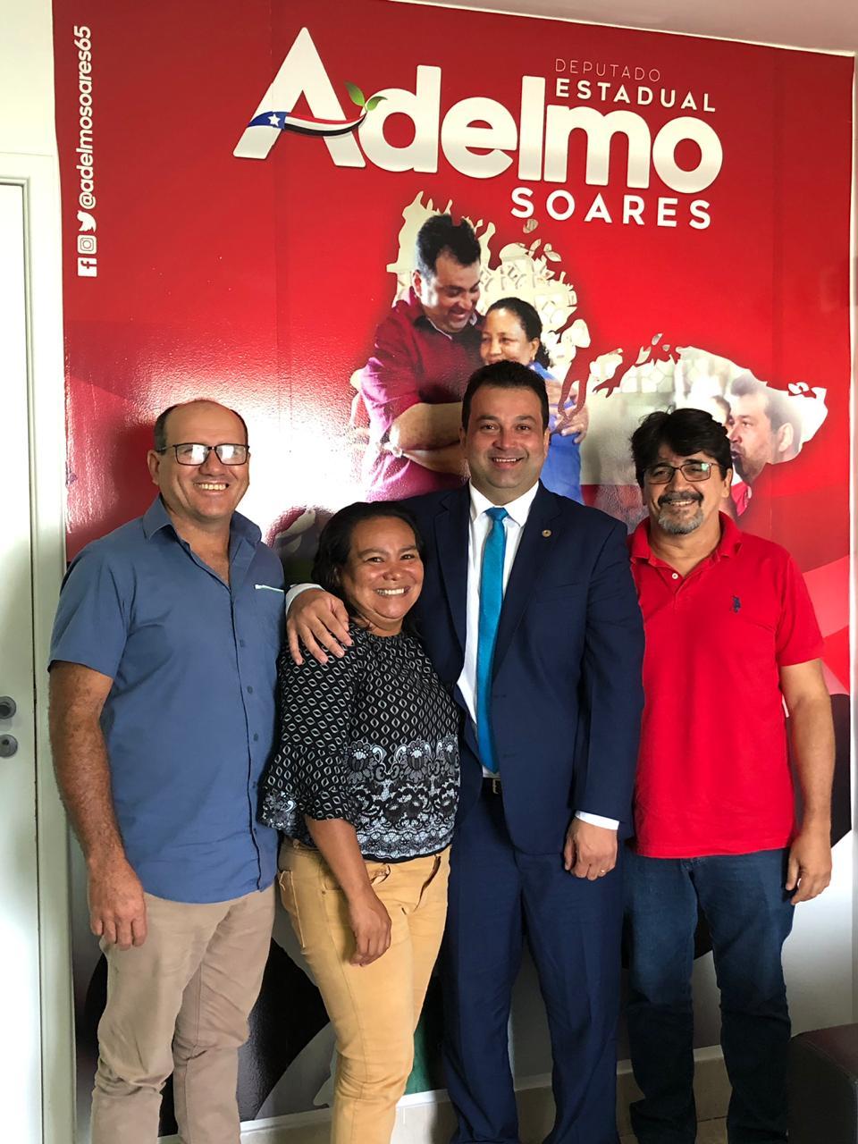 Adelmo Soares recebe coordenadores estaduais do MST