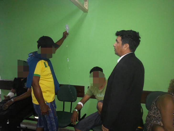 Deputado Wellington denuncia situação do Hospital Municipal de Imperatriz
