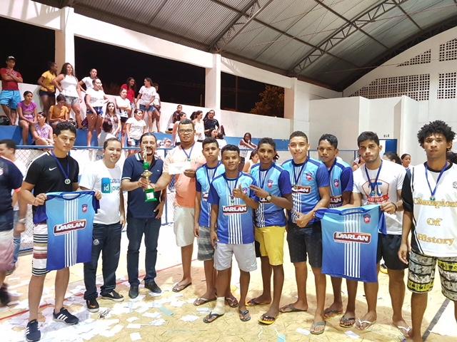 Júnior prestigia final da 1ª Copa Verde de Futsal, em Caxias