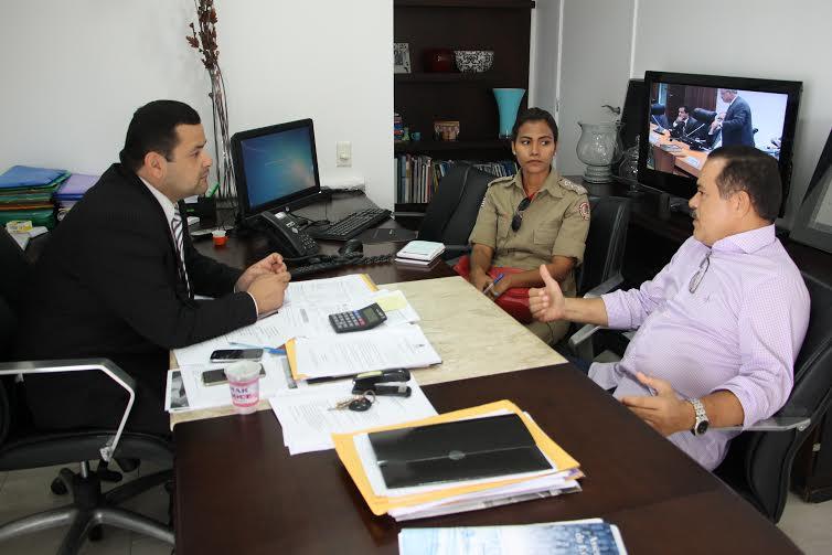 Vinicius Louro irá destinar emenda para Corpo de Bombeiros de Trizidela do Vale