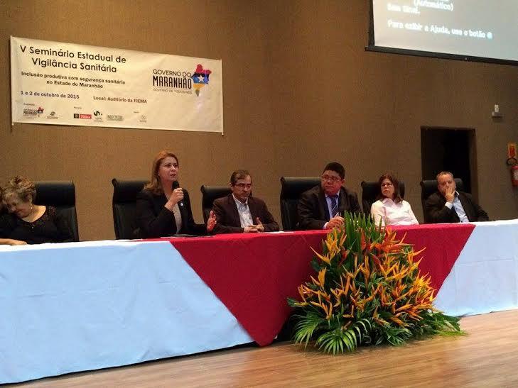 Deputada Valéria Macedo participa do V Seminário Estadual de Vigilância Sanitária