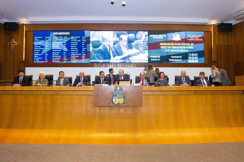 Sessão solene celebra o Dia do Ministério Público do Maranhão
