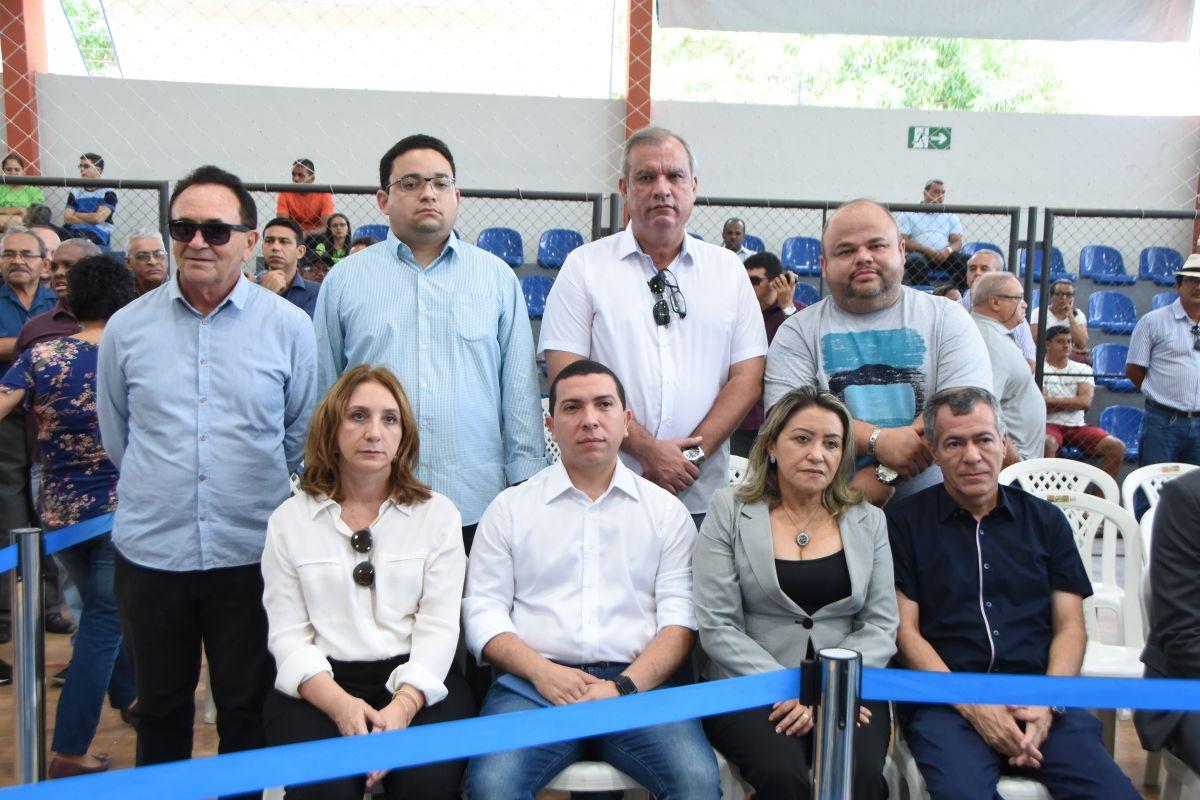 Em Caxias, diretores da Assembleia prestam homenagem ao presidente Humberto Coutinho