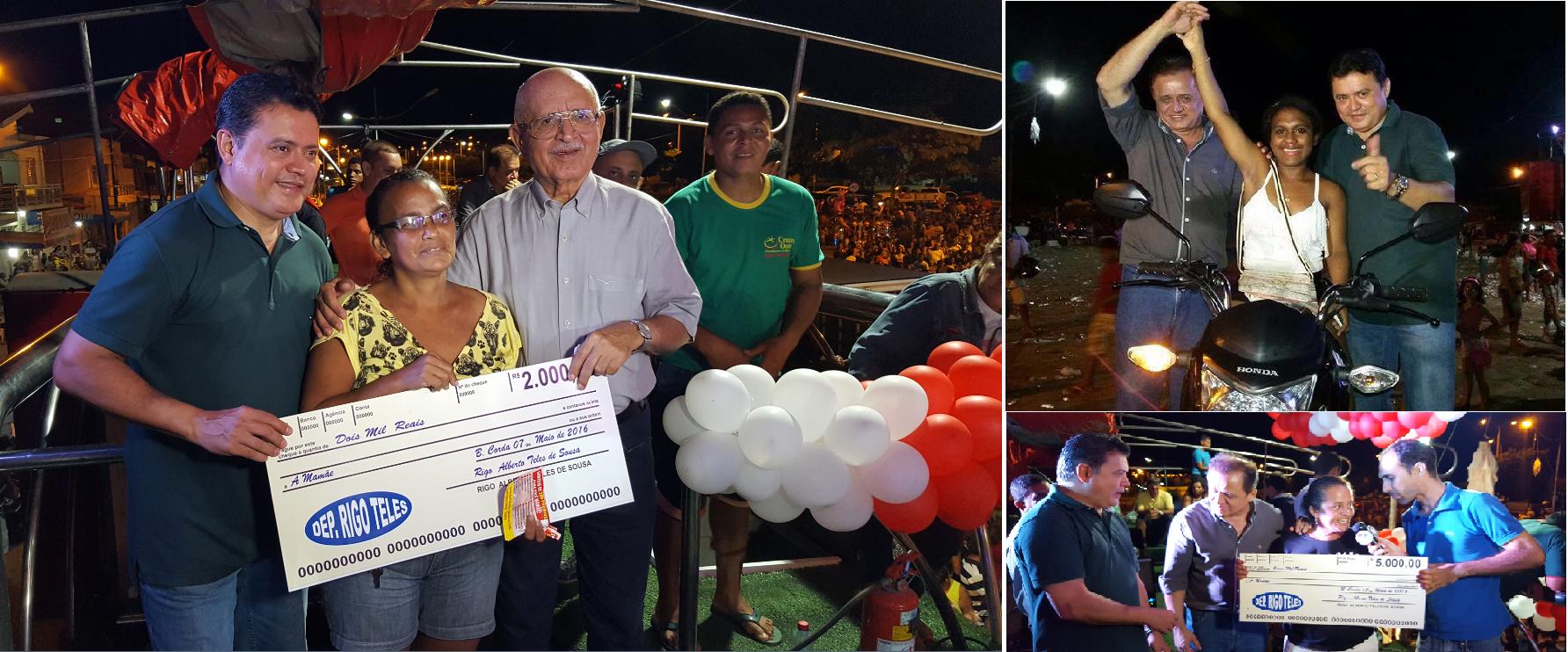 Rigo Teles promove mega festa para milhares  de mães de Barra do Corda