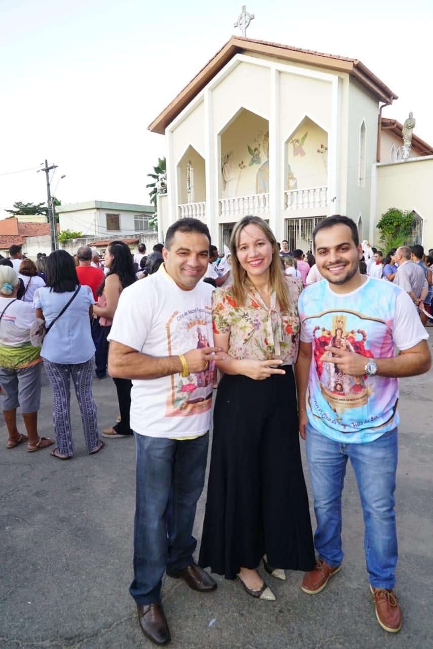 Detinha participa do Festejo do Círio de Nazaré