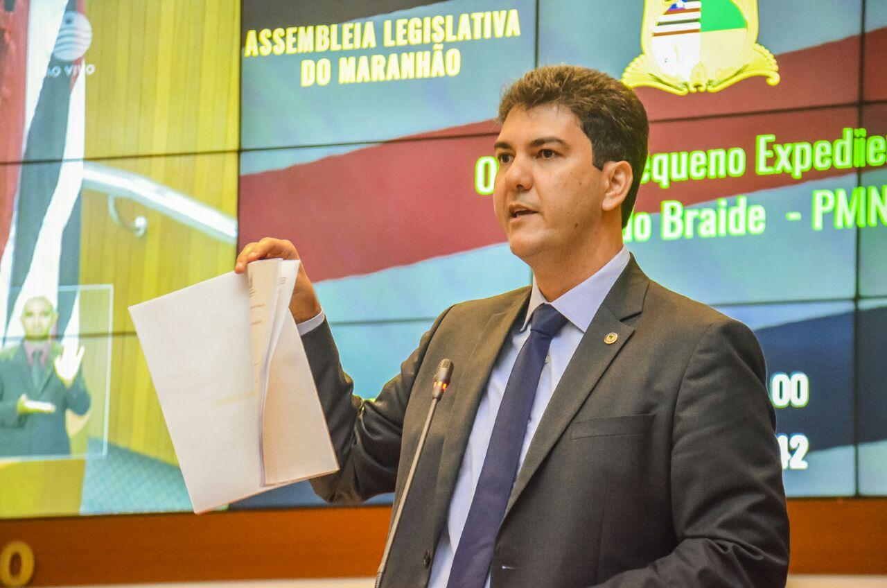 Eduardo Braide quer audiência pública sobre criação de Instituto de Previdência para servidores estaduais