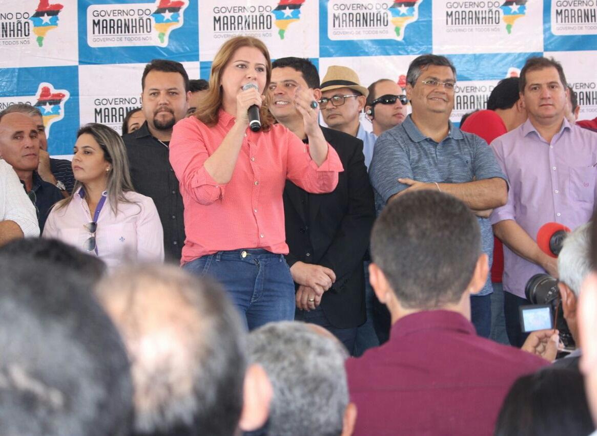 Valéria Macedo destaca a recuperação da MA-138 e a Reforma e Ampliação do C.E. Sertão Maranhense
