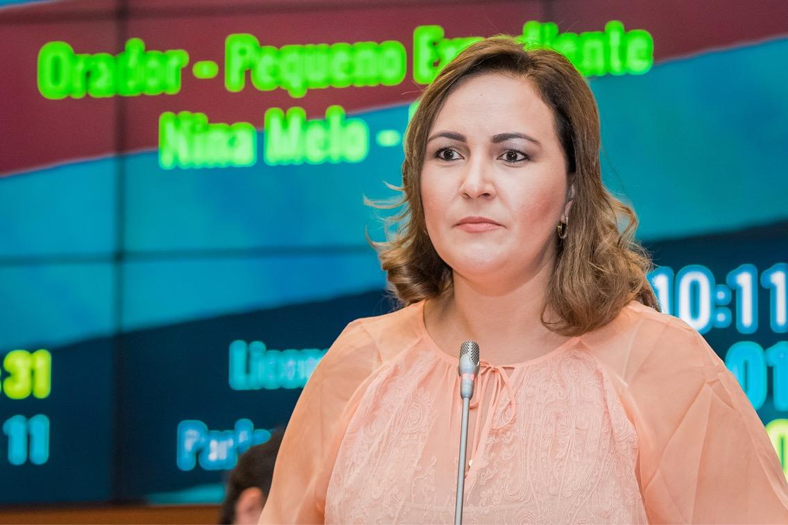 Nina Melo pede a retomada das obras na rodovia MA-036, no Médio Sertão